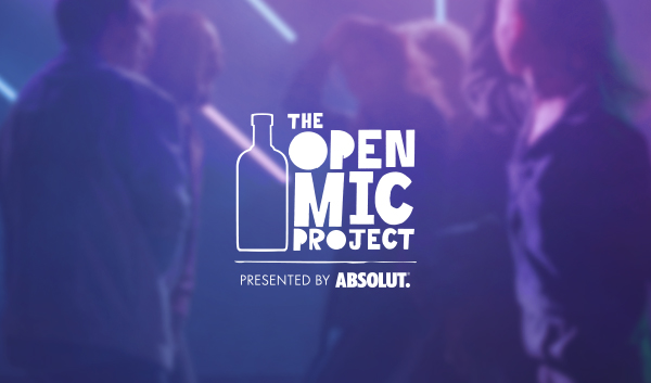 "360i Launches ""The Open Mic Project"" for Absolut Vodka - 360i Digital Agency Blog"